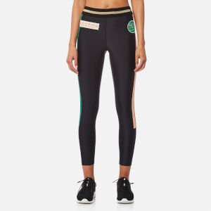 P.E Nation Women's On Deck Leggings - Black/Green