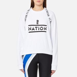 P.E Nation Women's The Wembley Sweatshirt - White