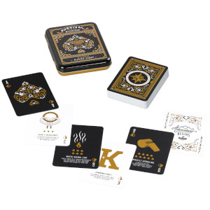 Gentlemen's Hardware Survival Playing Cards in Tin