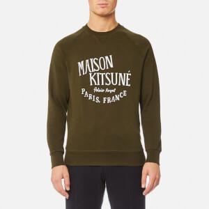 Maison Kitsuné Men's Palais Royal Sweatshirt - Khaki