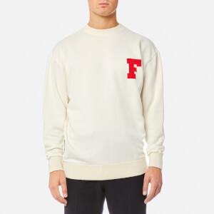 Maison Kitsuné Men's F Sweatshirt - Ecru