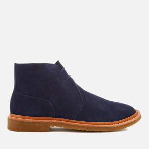 Polo Ralph Lauren Men's Karlyle Suede Desert Boots - Midnight