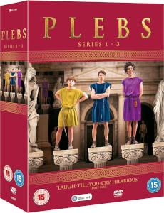 Plebs - Series One to Three