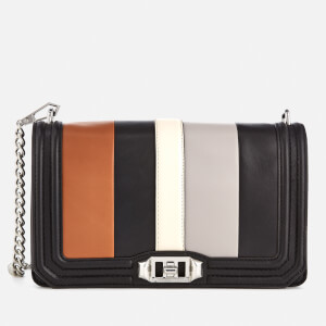 Rebecca Minkoff Women's Love Cross Body Bag - Almond Multi