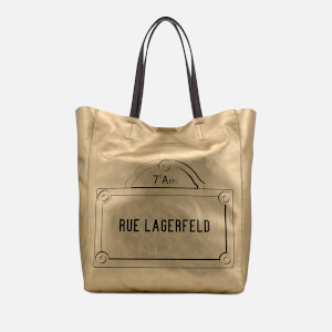 Karl Lagerfeld Women's Rue Lagerfeld Shopper Bag - Gold