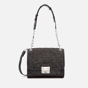 Karl Lagerfeld Women's K/Kuilted Caviar Mini Handbag - Multi