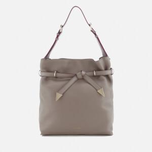 Karl Lagerfeld Women's K/Rocky Bow Drawstring Bag - A736 Sand Stone