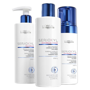 L'Oreal Professionnel Serioxyl Kit 2 For Colored Thinning Hair (615ml)
