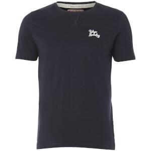 Tokyo Laundry Men's Hemsby Jersey T-Shirt - Dark Navy