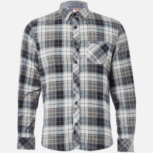Tokyo Laundry Men's Nashville Flannel Long Sleeve Shirt - Charcoal