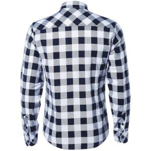 Tokyo Laundry Men's Alhambra Flannel Long Sleeve Shirt - White: Image 2