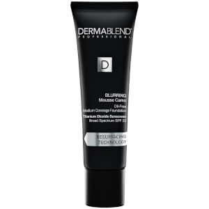 Dermablend Blurring Mousse Camo Foundation Make-Up with SPF25 for Oil-Free Medium to High Coverage - 45C Clay