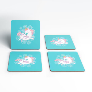 Pretty Magical Unicorn Coasters