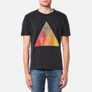 YMC Men's Albers Triangle T-Shirt - Black