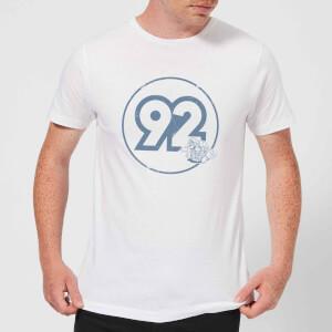 Camiseta Nintendo Mario Piloto Vintage 92 - Hombre - Blanco