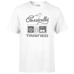 Nintendo® Retro NES Classically Trained Heren T-shirt - Wit