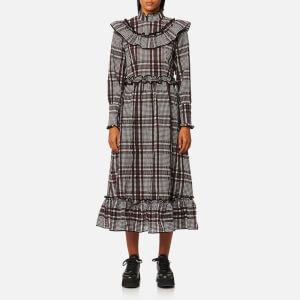 Ganni Women's Charron Dress - Decadent Chocolate