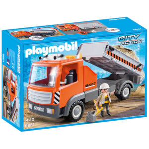 Playmobil City Life: Flatbed Workman's Truck (6861)