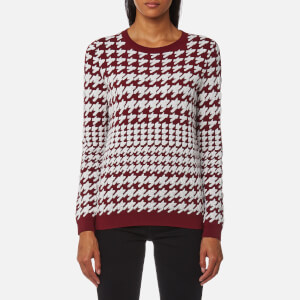 BOSS Orange Women's Inna Jumper - Dark Red