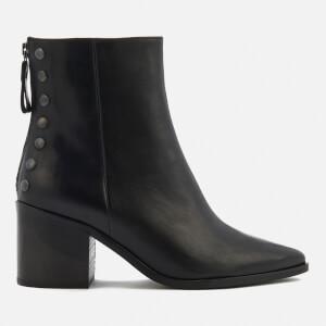 Carvela Women's Slight Leather Heeled Ankle Boots - Black