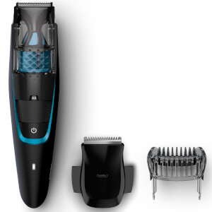 Philips BT7202/13 Series 7000 trimmer per barba folta e ispida con sistema di aspirazione integrato