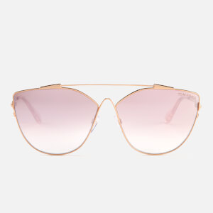 Tom Ford Women's Jacquelyn Sunglasses - Gold/Mirror Violet