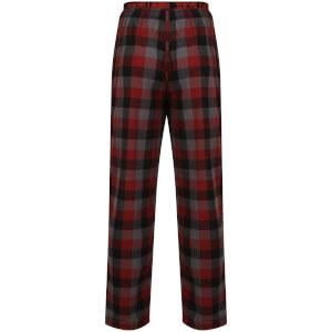 Tokyo Laundry Men's Kenning Check Lounge Pants - Red: Image 2