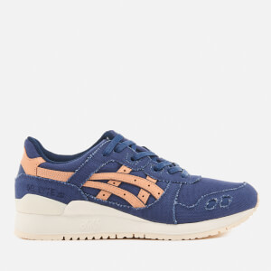 Asics Gel-Lyte III Trainers - Indigo Blue/Tan
