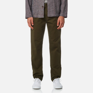 Universal Works Men's Aston Pants - Military Olive