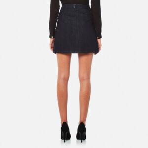 Versace Jeans Women's Skirt - Indigo: Image 2
