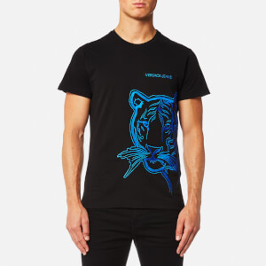 Versace Jeans Men's Tiger Logo T-Shirt - Blue