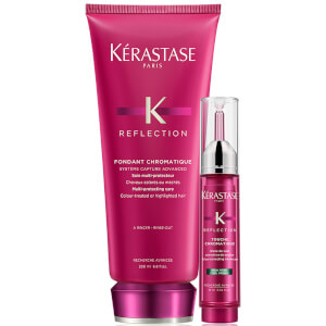 Kérastase Reflection Fondant Chromatique 200 ml og Touche Chromatique - Cool Brown 10 ml