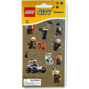LEGO Stickers (Metallic)