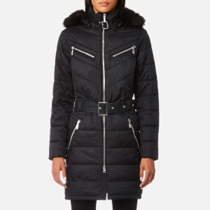 Barbour International Women's Mondello Quilt Coat - Black