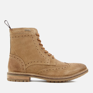 Superdry Men's Brad Suede Brogue Stamford Boots - Tan