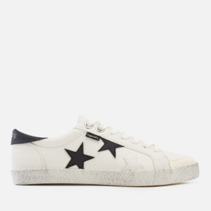 Superdry Women's Super Sleek Logo Lo Trainers - Optic/Black Star