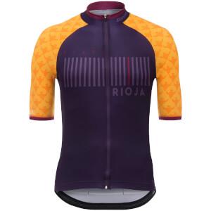 Santini La Vuelta 2017 Stage 16 Rioja Jersey - Purple/Orange