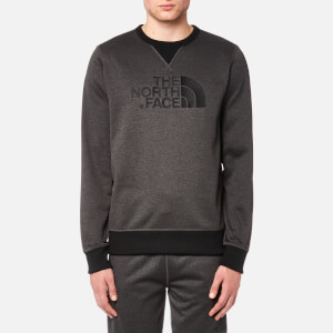 The North Face Men's MC Drew Peak Crew Sweatshirt - TNF Dark Grey Heather