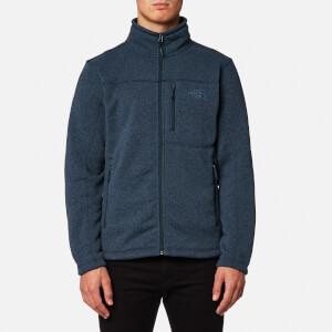 The North Face Men's Gordon Lyons Full Zip Fleece Jumper - Urban Navy Heather