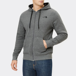 The North Face Men's Open Gate Full Zip Hoody - TNF Medium Grey Heather/TNF Black
