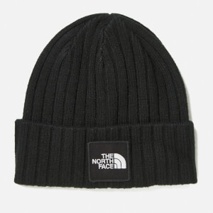 The North Face Men's TNF Logo Boxed Cuffed Beanie - TNF Black