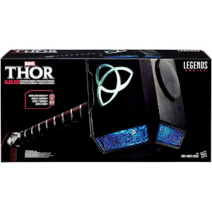Hasbro Marvel Legends Thor Mjolnir Hammer Elektronische Prop Replik