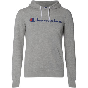 Sweat à Capuche Homme Logo Champion - Gris Chiné