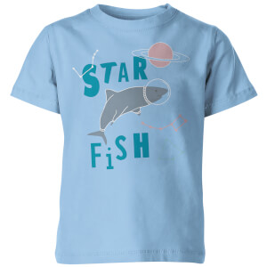 My Little Rascal Kids Star Fish Blue T-Shirt