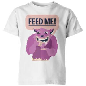 My Little Rascal Kids Feed Me! White T-Shirt