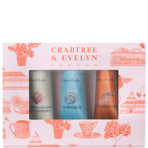 Crabtree & Evelyn Bestsellers Hand Therapy Sample 3 x 25g