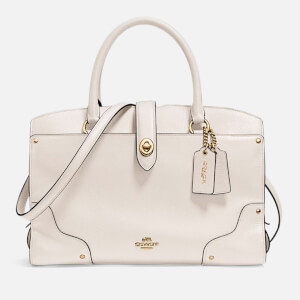 Coach Women's Grain Mercer 30 Satchel - Chalk