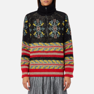 Maison Scotch Women's Special Jacquard Knitted Jumper - Combo B
