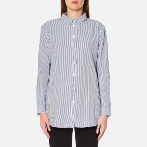 Selected Femme Women's Cally Long Sleeve Shirt - Dark Sapphire