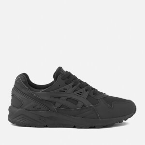 Asics Lifestyle Men's Gel-Kayano Mesh Trainers - Black/Black